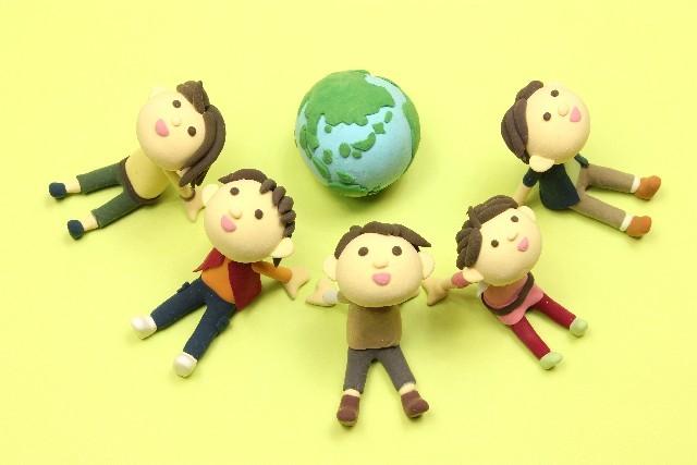 地球と4人