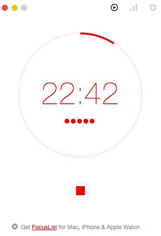 ポモドーロタイマーアプリ